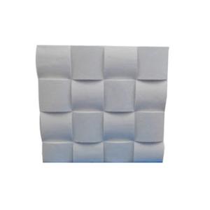 Revestimento Cimentício Quadrado Branco 30x30cm 4MMD