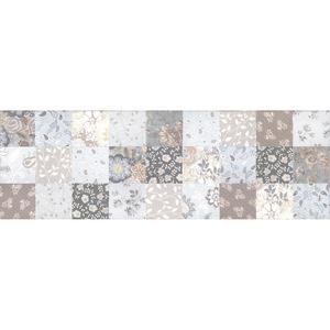Revestimento de Parede Borda Reta Acetinado 30x90,2cm Artwork Multicolor Incepa