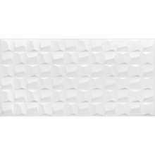 Revestimento de Parede Acetinado Borda Reta 45x90cm Cubic White Eliane