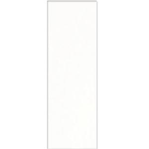 Revestimento de Parede Borda Reta Acetinado White Plain Matte 29,1x87,7cm Portinari 55340
