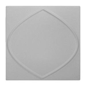 Revestimento de Parede Bagdá Cinza 20x20x1,5cm Caixa com 0,64m² Revest'lart