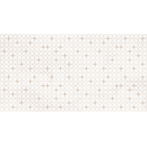 Revestimento de Parede Borda Reta Acetinado Balls Circus 33,8x64,3cm Ceusa