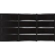 Revestimento de Parede Brilhante Borda Reta 30x60cm Gap Black Portobello