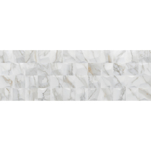 Revestimento de Parede Brilhante Borda Reta 30x90cm Calacata Cubic Eliane