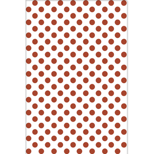 Revestimento de Parede Borda Arredondada Brilhante Dots Red 34x50cm Pamesa