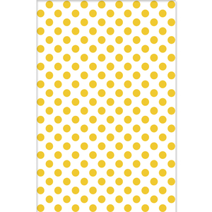 Revestimento de Parede Borda Arredondada Brilhante Dots Yellow 34x50cm Pamesa