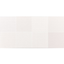 Revestimento de Parede Borda Reta Brilhante Flora Branco 30x60cm Portobello