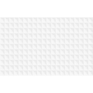 Revestimento de Parede Borda Arredondada Filas White 37x59cm Arielle
