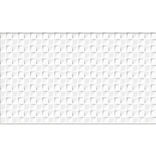 Revestimento de Parede Brilhante Borda Arredondada Marselha White HD52938 Embramaco
