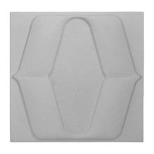 Revestimento de Parede Petali Cinza 20x20x1,5cm Caixa com 0,5m² Revest'lart