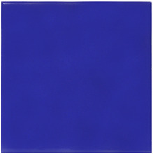 Revestimento de Parede Borda Arredondada Semi-Brilho Azul Cobalto Liso 20x20cm Pierini