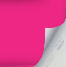 Revestimento Decorativo Básico Pink 45x200cm