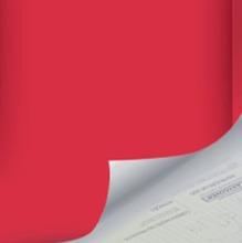 Revestimento Decorativo Básico Vermelho 45x200cm