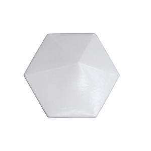 Revestimento Decorativo Cerâmica Branco Onix 16,7x14,5cm Essenza
