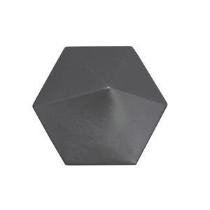 Revestimento Decorativo Cerâmica Carbono Onix 16,7x14,5cm Essenza