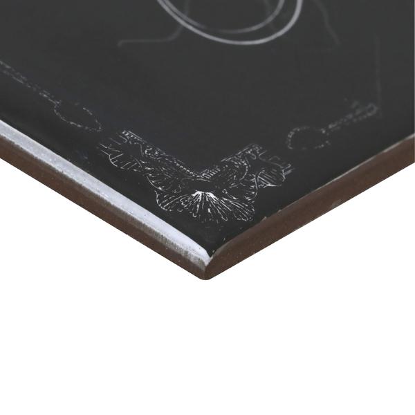 Revestimento decorativo cer mica lousa 15 6x15 6cm artens - Ceramica leroy merlin ...