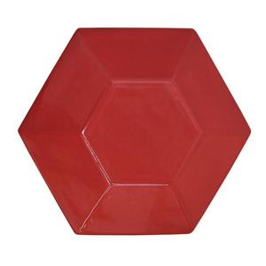 Revestimento Decorativo Cerâmica Vermelho Cristal 23x20cm Essenza