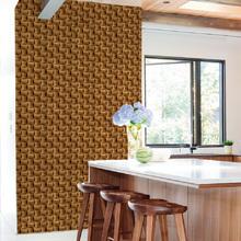 Revestimento Decorativo Madeira Marrom 44x300cm