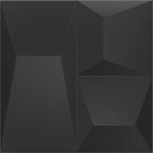 Revestimento Decorativo Space Block Preto 20x20cm Portinari