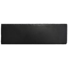 Revestimento Externo Cerâmica Abyss Preto 7,6x23,5cm Gabriella