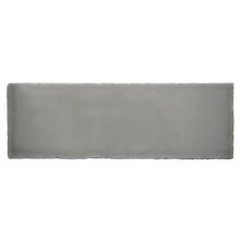 Revestimento Externo Cerâmica Geyser Cinza 7,6x23,5cm Gabriella
