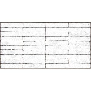 Revestimento Externo Mattone Bianco 51x103cm Lanzi