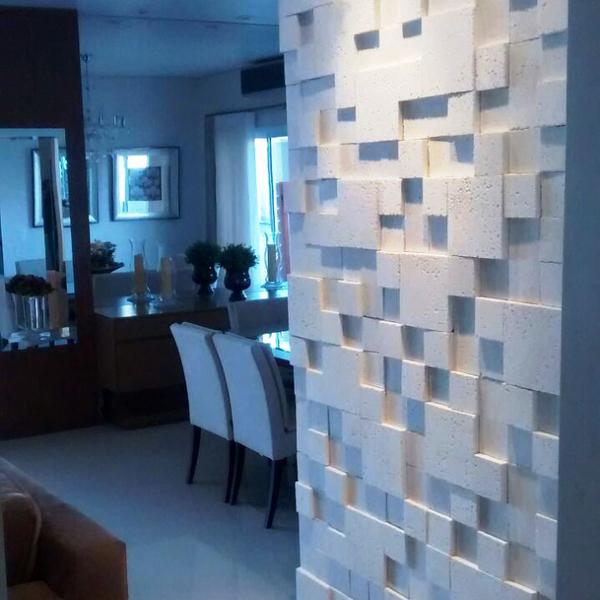 Revestimento mosaico rocatto branco santorino pisos for Mosaico leroy merlin