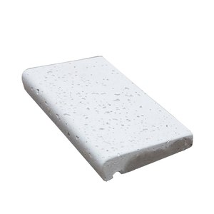 Revestimento para Borda de Piscina Mini Borda Branco 25x15cm Cimartex