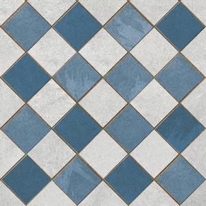 Revestimento para Fachada Azul Ovar 25x25cm Porto Ferreira