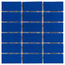 Revestimento para Fachada e Piscina Cristal Marinho 5x10 Elizabeth