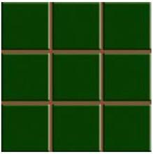 Revestimento para Fachada e Piscina Brilhante Multiplus Verde Musgo 18100135 20,3x20,3cm Rosagres