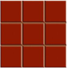 Revestimento para Fachada e Piscina Brilhante Multiplus Vermelho 18100105 20,3x20,3cm Ceral