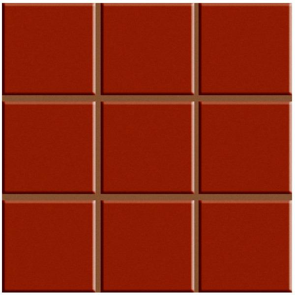Revestimento parede multiplus vermelho 18100105 20 3x20 - Azulejos biselados 10x20 ...