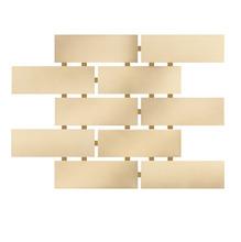 Revestimento para Fachada e Piscina Romano Crema 5x15 Ceral