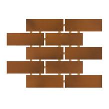 Revestimento para Fachada e Piscina Romano Marrom 5x15 Ceral