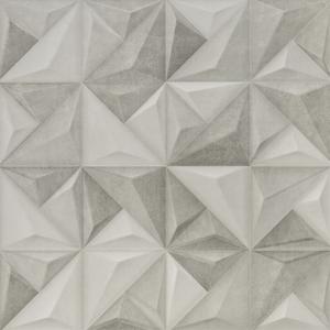Revestimento para Parede Borda Reta Acetinado Sense Abstract Mix 58,4x58,4cm Portinari