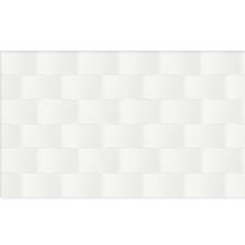 Revestimento para Parede Borda Arredondada Scaleno White 5243 33x57cm Embramaco
