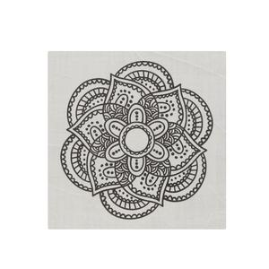 Revestimento para Parede Retangular Cerâmica Mandala 20x20 Artens