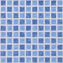 Revestimento para Piscina Aquarela Azul 25x25cm Porto Ferreira
