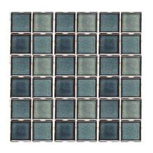 Revestimento para Piscina Azul Capri 30,3x30,3cm Jatobá