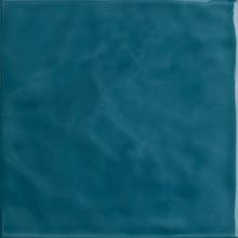 Revestimento para Piscina Azul Mar Onda 20x20cm Eliane