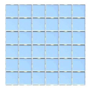 Revestimento para Piscina Azul Trancoso 30,3x30,3cm Jatobá
