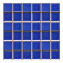 Revestimento para Piscina Azul Viscaya 30,3x30,3cm Jatobá