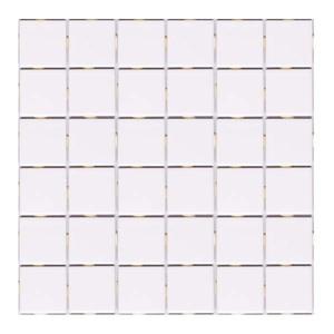 Revestimento para Piscina Branco Neve 30,3x30,3cm Jatobá