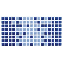 Revestimento para Piscina Brilhante Azul Arvoredo 10x20cm Eliane