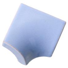 Revestimento para Piscina Brilhante Azul Laguna Liso 7,5x7,5cm Eliane