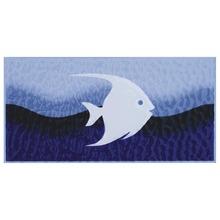 Revestimento para Piscina Brilhante Azul Peixe Taquari B 10x20cm Eliane