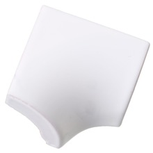 Revestimento para Piscina Brilhante Branco Liso 2,5x2,5cm Eliane
