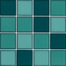Revestimento para Piscina Cerâmica Colorbox Maxi Verde 19x19cm Eliane