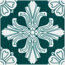 Revestimento para Piscina Cerâmica Flower Mono Verde 20x20cm Eliane